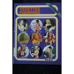 Vedettes Féminines Incognito n° 5 * 1982 * Christine MULLER Helen SHIRLEY Lucy DOLL * ALL NUDE