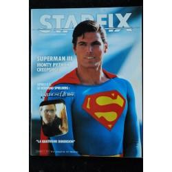 STARFIX 005 n° 5 * 1983 * David BOWIE FURYO Mel GIBSON L'année de tous les dangers Sean CONNERY James BOND TENEBRES