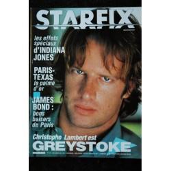 STARFIX 017 n° 17 * 1984 * Cannes 84 INDIANA JONES UTU A la poursuite du diamant vert Des aventuriers pour l'été