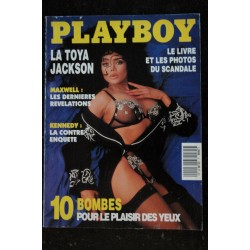 PLAYBOY 009 1992 MARS COVER LA TOYA JACKSON 16 PAGES INTERVIEW ROBERT MAXWELL SHANNON TWEED SASSKIA LINSSE
