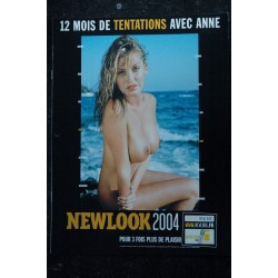 NEWLOOK CALENDRIER 2004 12 MOIS DE TENTATIONS AVEC ANNE EROTISME CHARME PHOTOS