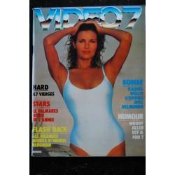 VIDEO 7 013 N° 13 1982 Isabelle HUPPERT 007 James BOND + CAHIER EROTIC