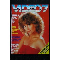 VIDEO 7 014 N° 14 1982 RAQUEL WELCH WOODY ALLEN INGRID BERGMAN+ CAHIER EROTIC