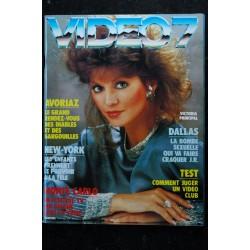 VIDEO 7 017 N° 17 1983 DINO RISI NASTASSIA KINKI EDDY MITCHELL GRACE JONES + CAHIER EROTIC