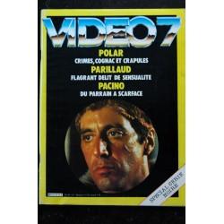 VIDEO 7 032 N° 32 1984 Jack NICHOLON Catherine DENEUVE RIVES HUSTER + CAHIER EROTIC
