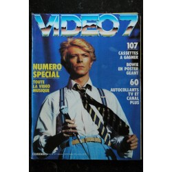 VIDEO 7 040 N° 40 1984 SOPHIE MARCEAU Thierry LHERMITTE LA MAFIA + CAHIER EROTIC