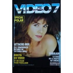 VIDEO 7 109 1990 SCHWARZENEGGER WOODY ALLEN CLINT EASTWOOD DEPARDIEU -CYRANO + CAHIER EROTIC