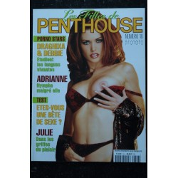 Les Filles de PENTHOUSE 1998 10/11/12 N° 18 PORNO STARS DRAGHIXA & DEBBIE ADRIANNE JULIE SHARON 19 ans...