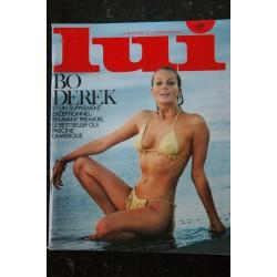 LUI 196 MAI 1980 COVER BO DEREK TOUTE NUE PAR JOHN DEREK LAUTNER AUDIARD EAGLE SOREL SINE ASLAN