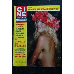 CINE REVUE 1976 n° 36 JACK NICHOLSON JEANNE GOUPIL JANE BIRKIN NUE 4 PAGES