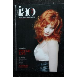 iao n° 7 Mylène FARMER février/mars/avril 2006 * 84 pages + Poster