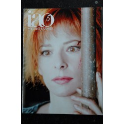 iao n° 1 Mylène FARMER février/mars 2005 * 36 pages Poster