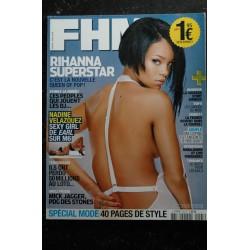FHM 102 2008 JANVIER COVER ALIZEE ISABELI FONTANA TOP MODEL DAFT PUNK