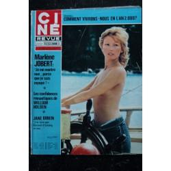CINE REVUE 1975 n° 14 Elisabeth TESSIER JEAN MARAIS