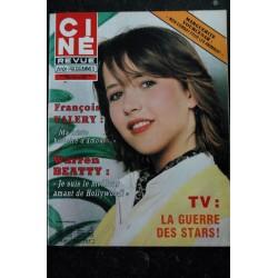 CINE REVUE 1982 n° 15 SOPHIE MARCEAU François VALERY Warren BEATTY Natalie BAYE