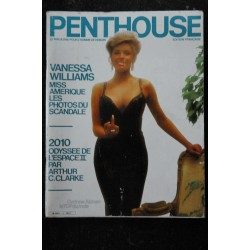 PENTHOUSE 001 N° 1 FEVRIER 1985 NUMERO COLLECTOR RARE VANESSA WILLIAMS MISS AMERIQUE INTEGRAL NUDE
