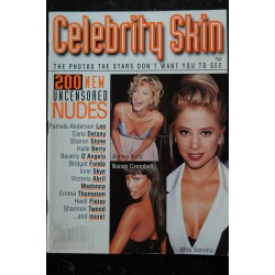 CELEBRITY SKIN 1996 50 Anderson Andress Bardot Basinger Campbell Derek Ekberg Madonna Sharon stone Welch ..