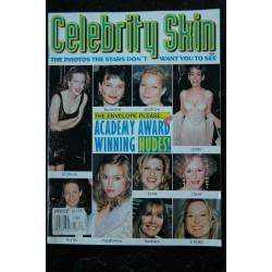 CELEBRITY SKIN 1996 55 Hayek Hurley Thurman Lee Barrymore Lewis Herzigova Madonna Beart Kinski Lopez Paltrow