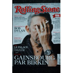 ROLLING STONE 004 T 01024 Cover Gainsbourg Birkin Dylan Mick Jagger William Sheller