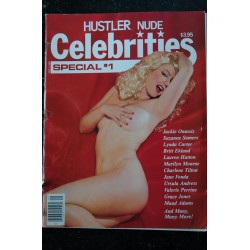 HUSTLER NUDE CELEBRITIES Special 1 * 1982 * Jackie Onassis Marilyn Monroe Jane Fonda Usula Andress Grace Jones