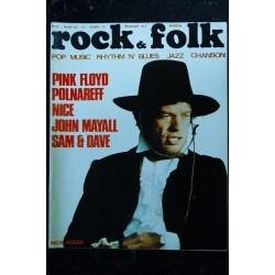 ROCK & FOLK 039 n° 39 AVRIL 1970 COVER ROBERT PLANT PINK FLOYD LED ZEPPELIN XENAKIS BEATLES BRIGITTE FONTAINE