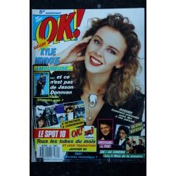 OK ! âge tendre 587 1987 COVER FRANCE GALL DE A à Z CAROLINE LOEB SANDRA GOLD