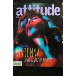 """DIVAN 1 2001 DECEMBRE COVER MADONNA """" J'AI GRANDI AVEC DEUX IMAGES LA VIERGE ET LA PUTAIN """""""