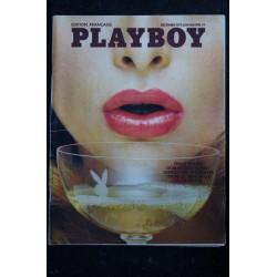 PLAYBOY 002 N° 2 DECEMBRE 1973 DAVID BOWIE AMER LINDNER DOMINIQUE SANDA INGMAR BERGMAN VINTAGE EROTIC