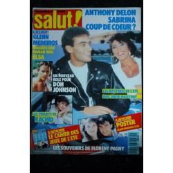 SALUT ! 046 1989 AOUT POSTERS GEANTS BROS KARATE KID MYLENE FARMER ELSA PATRICIA KAAS