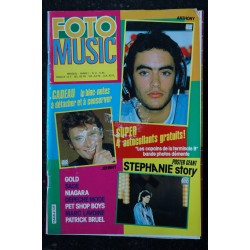 FOTO MUSIC 2 1986 JOHNNY HALLYDAY GOLD SADE NIAGARA DEPECHE MODE PET SHOP BOYS + POSTER GEANT STEPHANIE DE MONACO