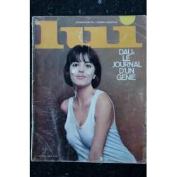LUI 004 N° 4 MARS 1964 DALI LE JOURNAL D'UN GENIE SIMENON CHARME VINTAGE EROTISME PHOTO RARE 1964