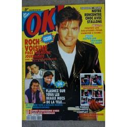OK ! âge tendre 591 MAI 1987 ANTHONY DELON + POSTER GEORGE MICHAEL CIAO CIAO DALIDA LIO LICENCE IV INTERFACE