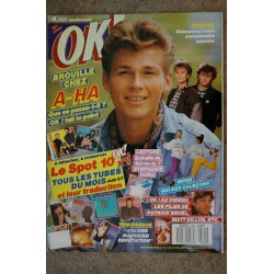 OK ! âge tendre 555 SEPT 1986 GEORGE MICHAEL ANDY WHAM SAMANTHA FOX + FICHES SPOT 10 SAM MADONNA