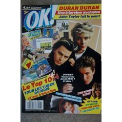 OK ! âge tendre 564 NOVEMBRE 1986 COVER A-HA INDOCHINE HONG KONG SYNDIKAT CAROL ARNAULD+ FICHES SPOT 10
