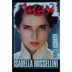 MAX 020 N° 20 ISABELLE ROSSELLINI ROSIE PORT FOLIO HELMUT NEWTON