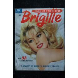 MON FILM 1957 SPECIAL BRIGITTE BARDOT DANIEL GELIN DANS EN EFFEUILLANT LA MARGUERITE 68 PAGES RARE