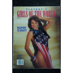 PLAYBOY'S GIRLS OF THE WORLD 1992 10 ISABELLE FORTEA ANDREA JOHNSON MELODY STARK