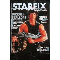 STARFIX 029 n° 29 * 1985 * STALLONE ROCKY IV RICHARD GERE LIFEFORCE Mathilda MAY