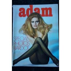 ADAM 34 TREZ SPECIAL PHOTOS SEXY BRIGITTE BARDOT NUE 12 PAGES EROTISME CHIC 1969