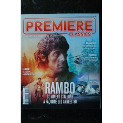MAD MOVIES HORS-SERIE 49 CLASSIC 20 SPECIAL RAMBO SYLVESTER STALLONE DU PREMIER AU DERNIER SANG