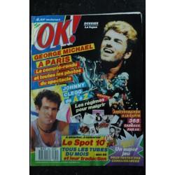 OK ! âge tendre 610 1987 SEPTEMBRE COVER VANESSA PARADIS DE A à Z MICHAEL JACKSON STORY 2ème PARTIE JADE MALLE