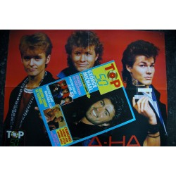 TOP 50 022 AOUT 1986 COVER MARC TOESCA BONNIE TYLER LIMAHL SANDRA WHAM SPAGNA + POSTERS GOLD SANDY MARTON