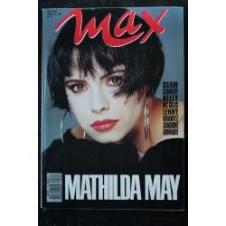 MAX 015 N° 15 MATHIDA MAY KELLY LYNCH SANDRINE BONNAIRE INDOCHINE KRAVITZ