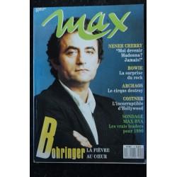 MAX 009 N° 9 BOHRINGER BOWIE NENEH CHERRY COSTNER