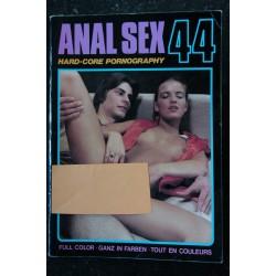 ANAL SEX n° 13 * 1975 * Color Climax Corporation Vintage Erotic Revue Roman Photo Adultes