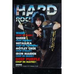 HARD ROCK Magazine 2 * 1984 02 * OZZY AC / DC IRON MAIDEN KISS MOTORHEAD DIO