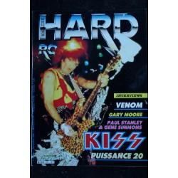HARD ROCK Magazine 11 * 1996 03 * FEAR FACTORY KISS METALLICA SEPULTURA Adrian SMITH