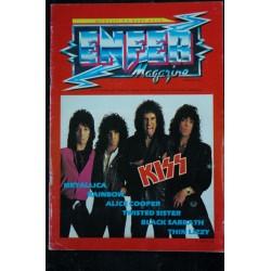 ENFER Magazine 1983 10 n° 6 * KISS METALLICA RAINBOW Alice COOPER LIZZY Black SABBATH