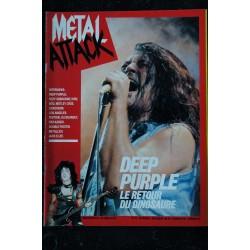 METAL ATTACK 1984 10 n° 14 * DEEP PURPLE OZZY KISS MOTLEY CRUE METALLICA