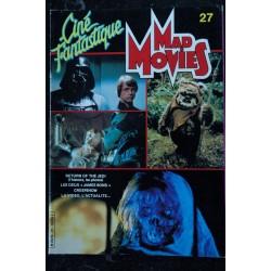 Ciné Fantastique MAD MOVIES n° 29 * 1984 * HARRISON FORD JOE DANTE TWILIGHT ZONE XTRO